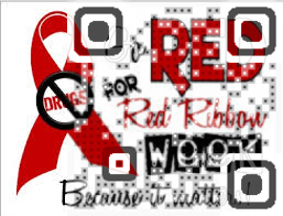 Red Ribbon Week QR Code