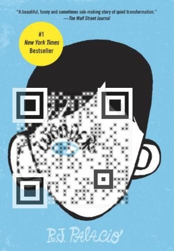 Wonder Book Trailer QR Code by cmargocs | Visualead