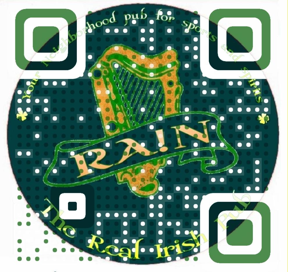 rain pub QR Code