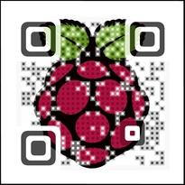 Raspberry QR Code
