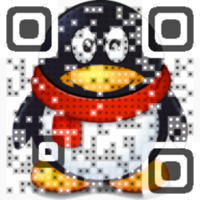 Sheepish Penguin QR...